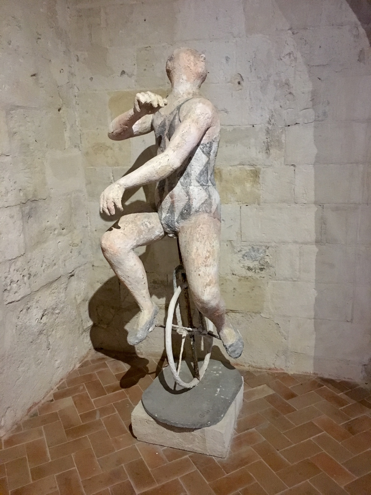 MUSMA, Matera's museum of modern sculpture set in a centuries-old cave.