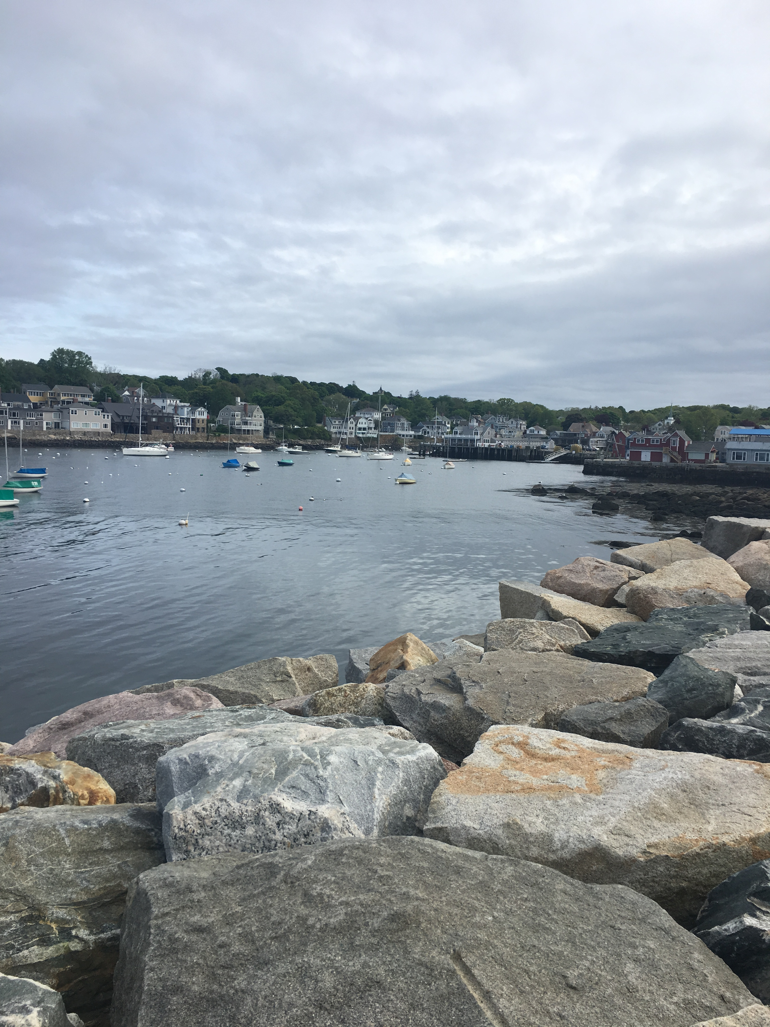 Weekend in Rockport with a baby